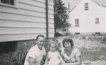 Mom Dziadzia Babcia when house was built 11
